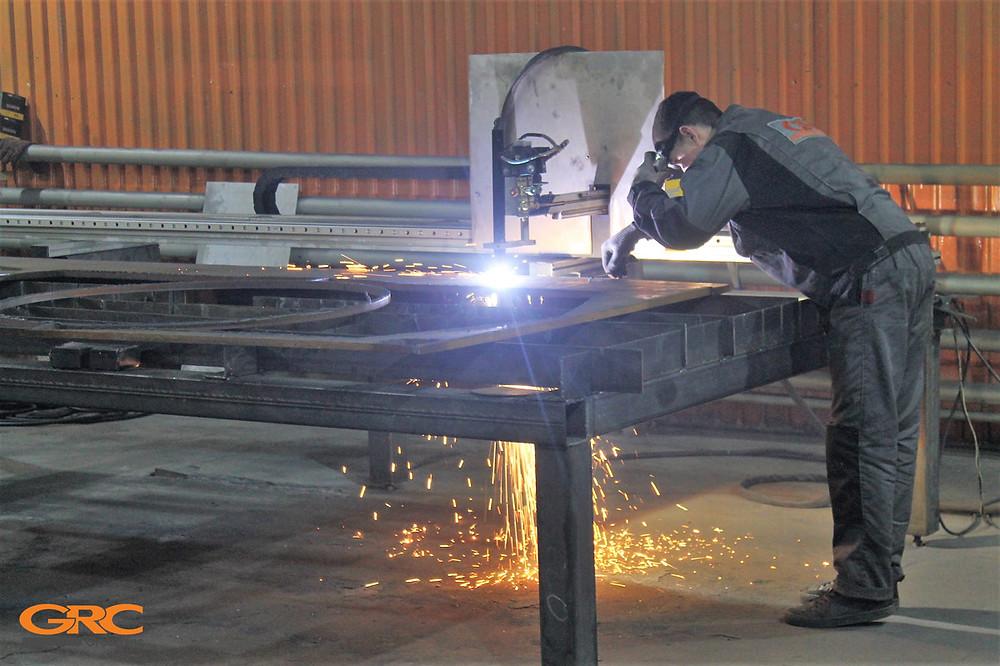 Изготовление деталей каретки вилочного погрузчика на станке плазменной резки