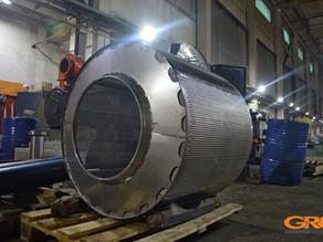 Ремонт промышленного стирального барабана Ø 990 мм