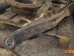 Ремонт передней (поперечной) балки Daewoo ULTRA NOVUS