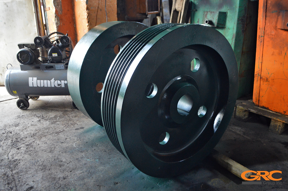 Доработка ротора дробилки CHANG WOEN