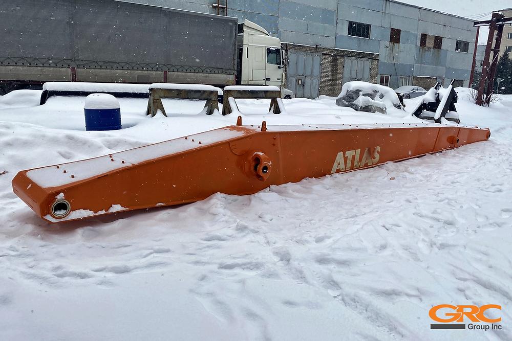 Стрела перегружателя ATLAS MH 350 после ремонта