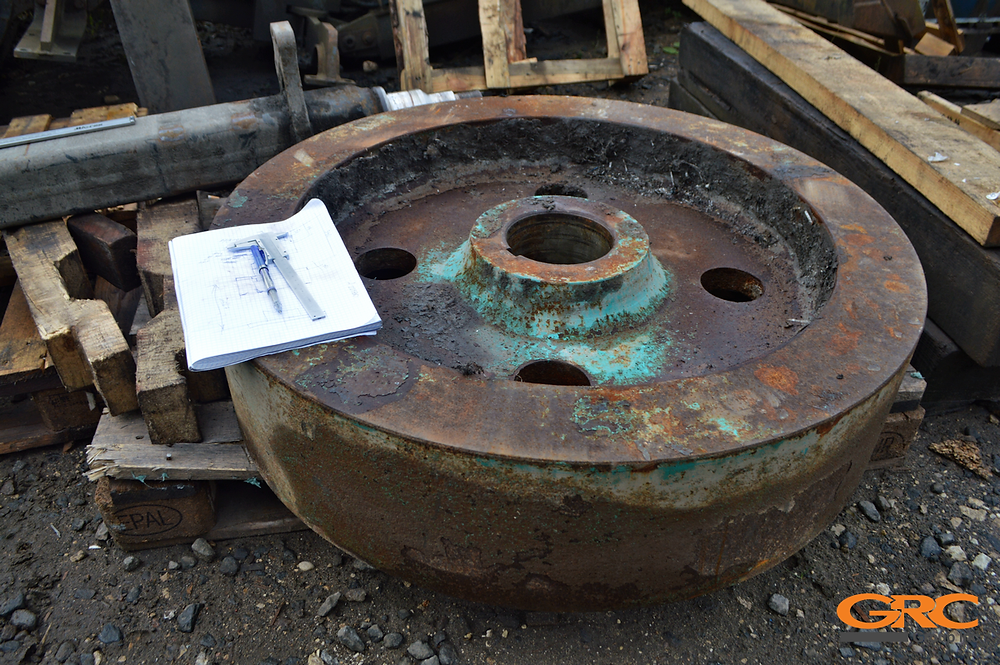 Маховик ротора в ремонт