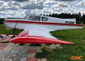 Восстановление кронштейна шасси самолета Як-18Т
