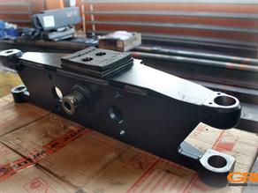 Ремонт управляемого моста вилочного погрузчика Toyota 42-7FG15