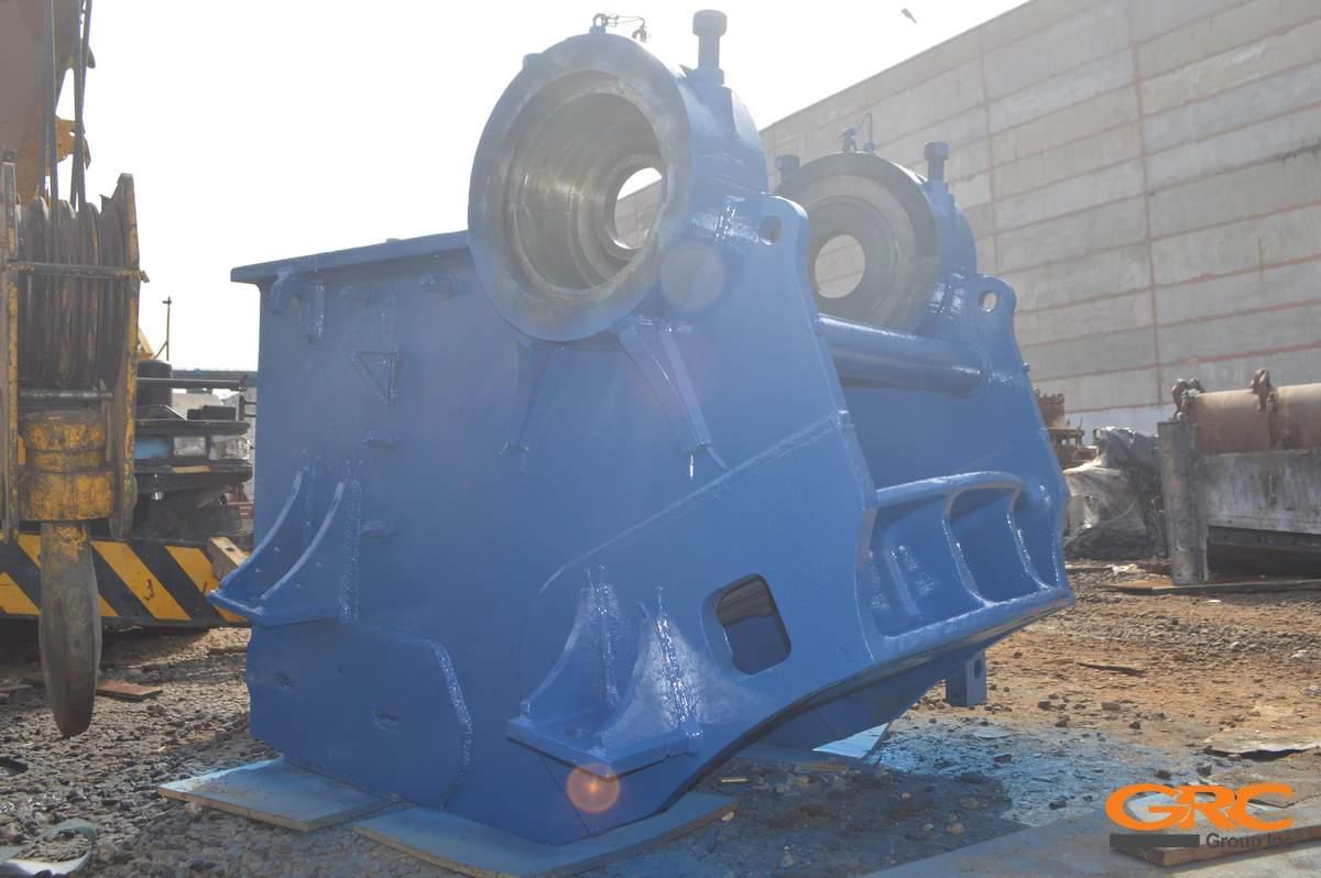 Фотографии корпуса щековой дробилки Metrotrak  после ремонта