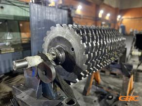 Изготовление роторно-дискового измельчителя ваты