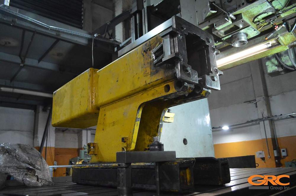 Фрезеровка ремонтируемых элементов собранного каркаса в чистовой-заводской размер