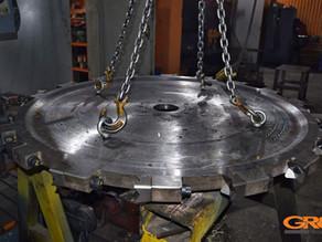 Изготовление пильного диска на валочною головку
