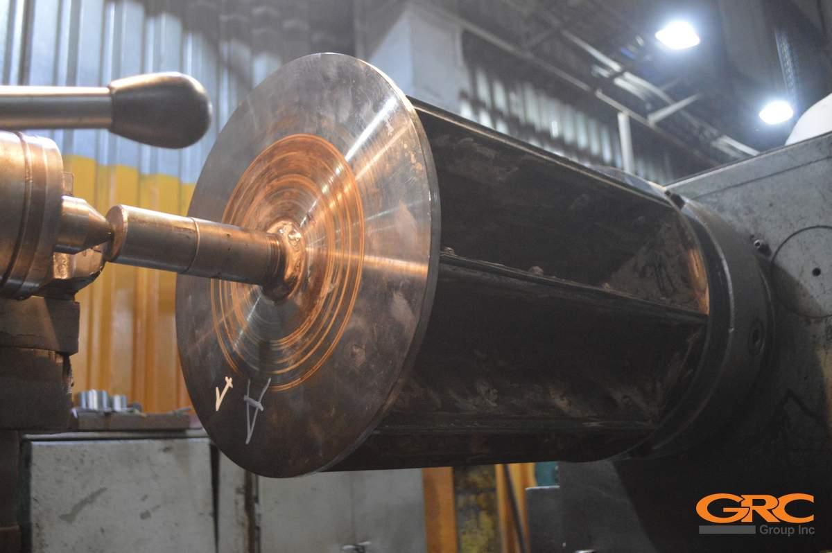 Ремонтируем ротор шлюзового дозатора по технологии наплавки
