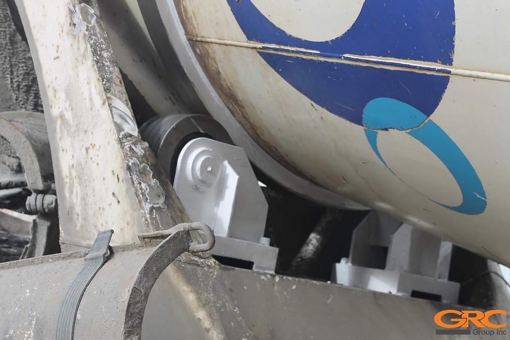 Изготовленные опоры барабана автобетоносмесителя