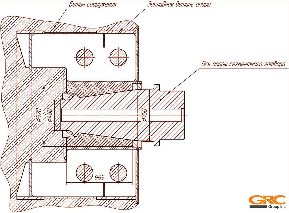 Проработка расточки и фрезеровки конических отверстий мобильными станками