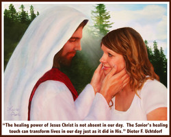 The Savior's Healing Touch 8x10