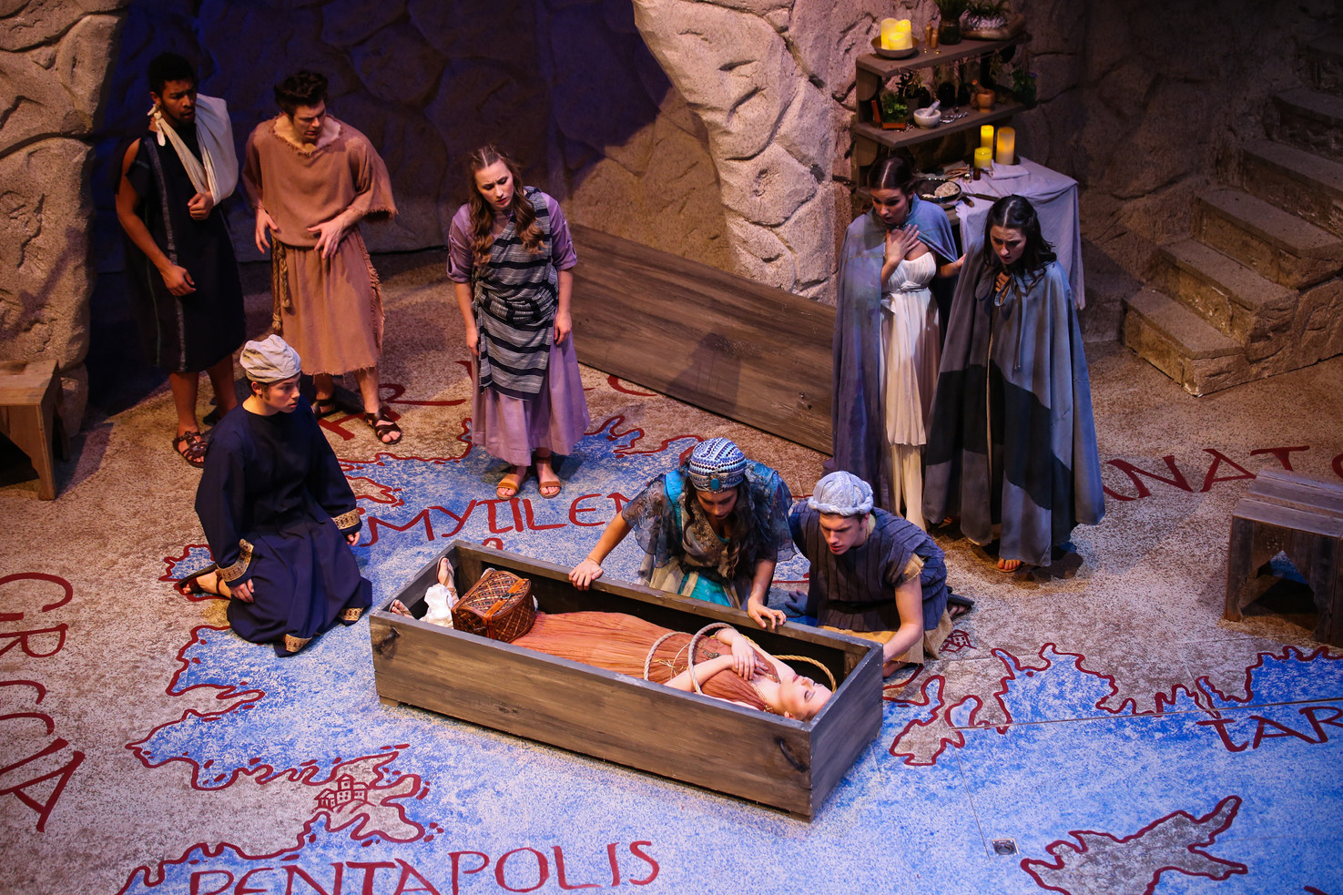Pericles at Theatre TCU