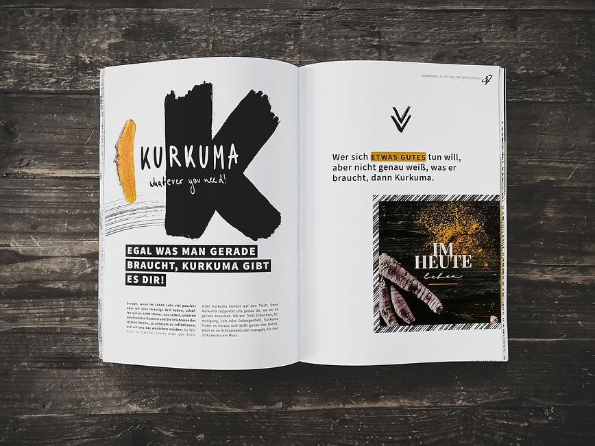 Kurkuma Food Magazin