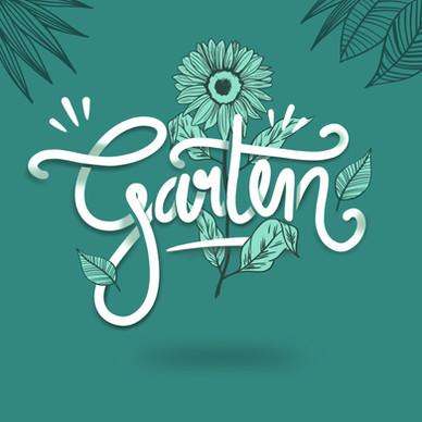 Illustration Garten
