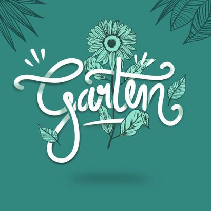 Illustration Garten