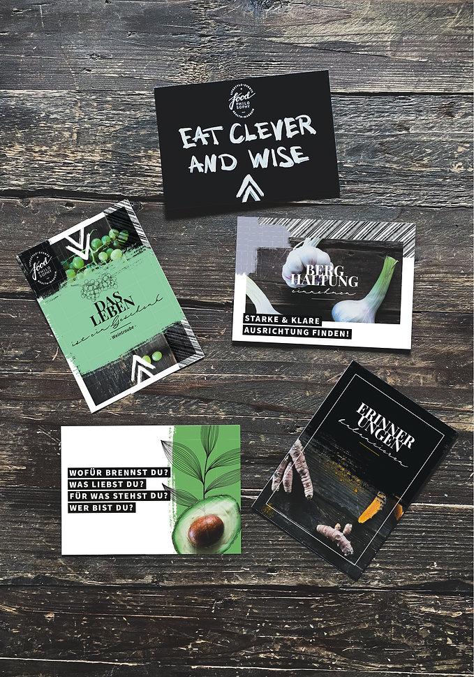 Food Philosophy Postkarten A6