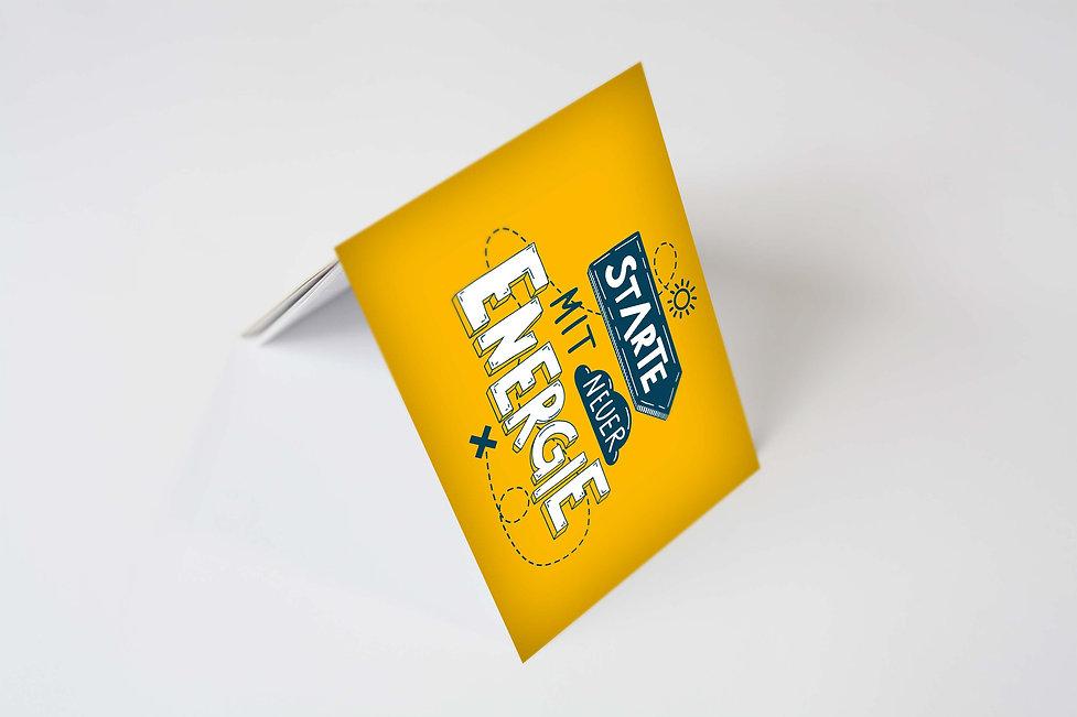 Visitenkarte Design Solar Activ