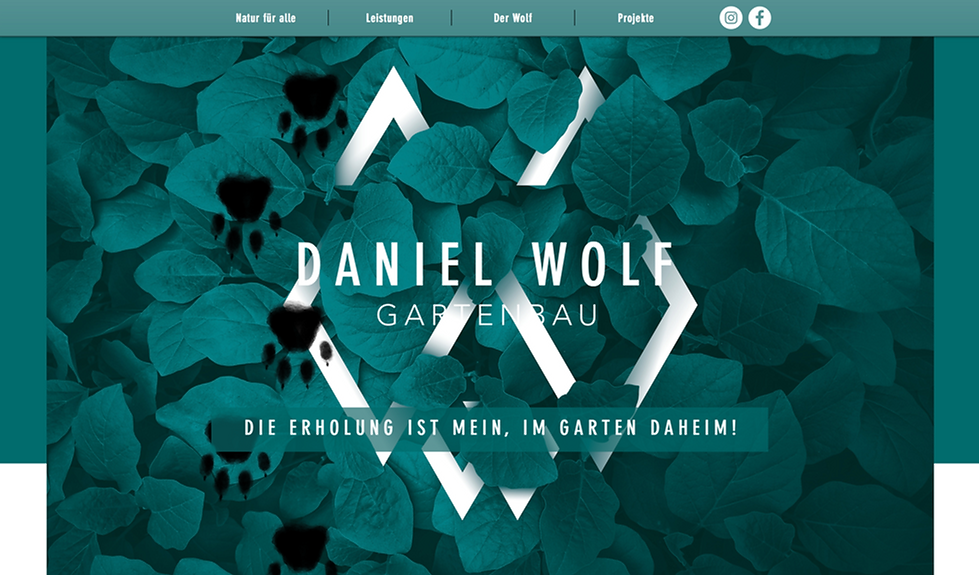 Startseite Home Website Daniel Wolf