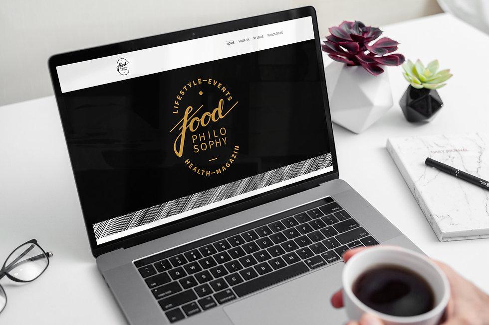 Webdesign Webseite Food Philosophy Melanie Brombacher Web