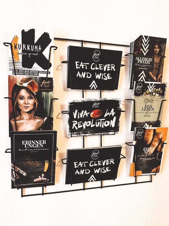 Postkarten Food Philosophy Melanie Brombacher