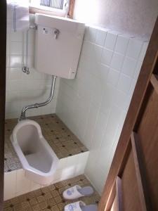 松山 和便器 から 洋便器 トイレ リフォーム (M様邸)