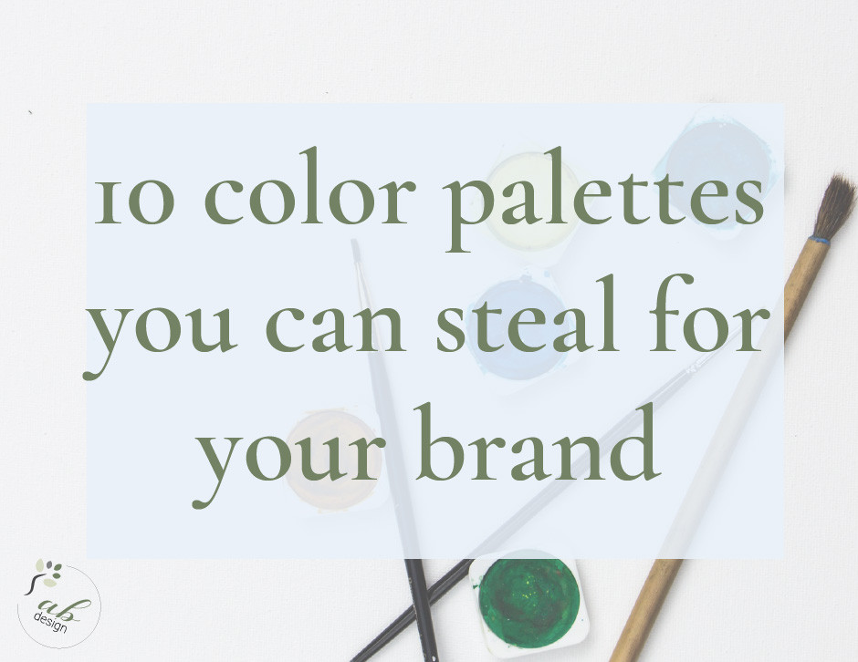 Color palettes you can steal for your brand blog header
