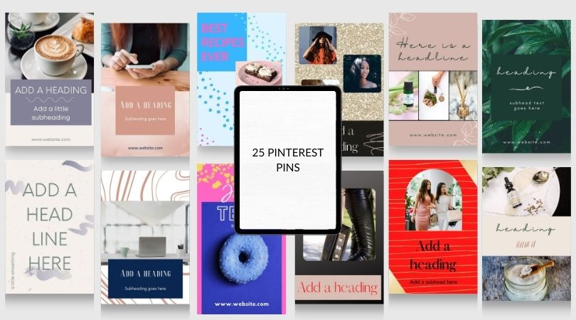 Pinterest Pin Templates