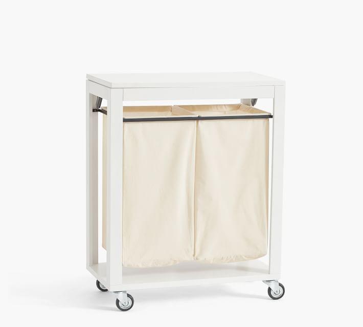Aubrey Laundry Cart