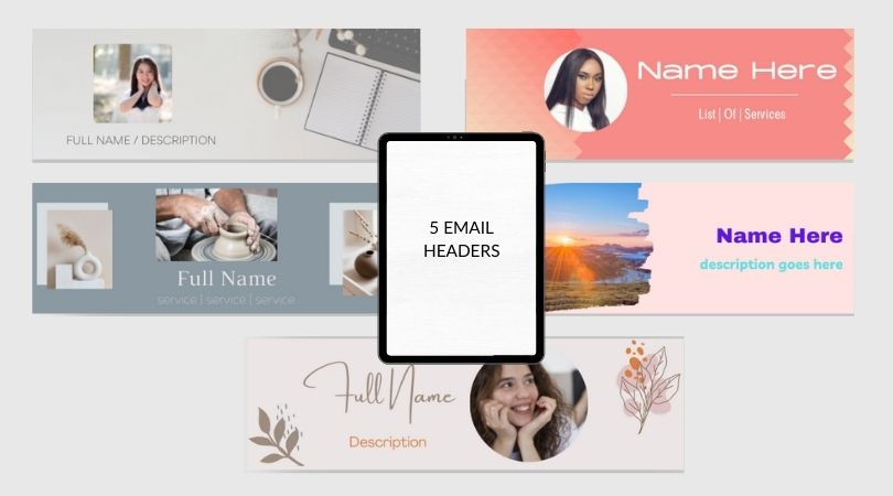 Email Header Templates
