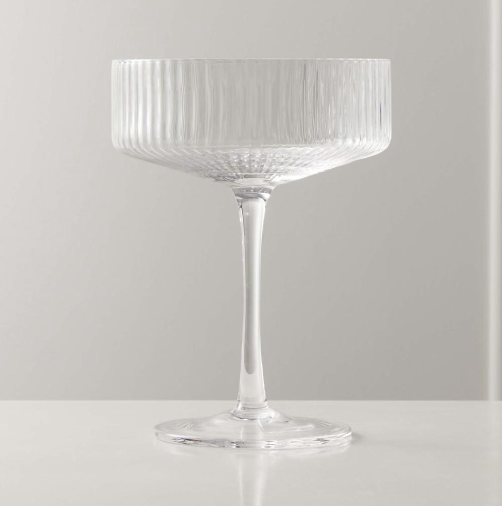 CB2 Cocktail Glasses