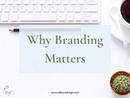 Why branding matters
