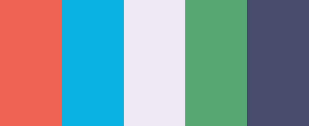 Preppy but pretty color palette