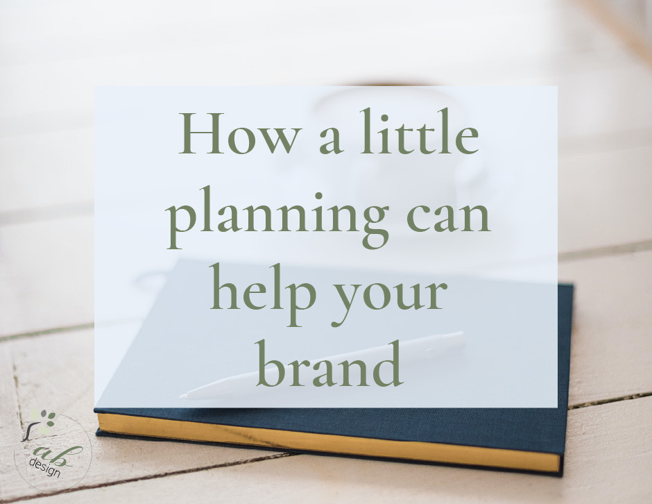 How a little planning can help your brand header