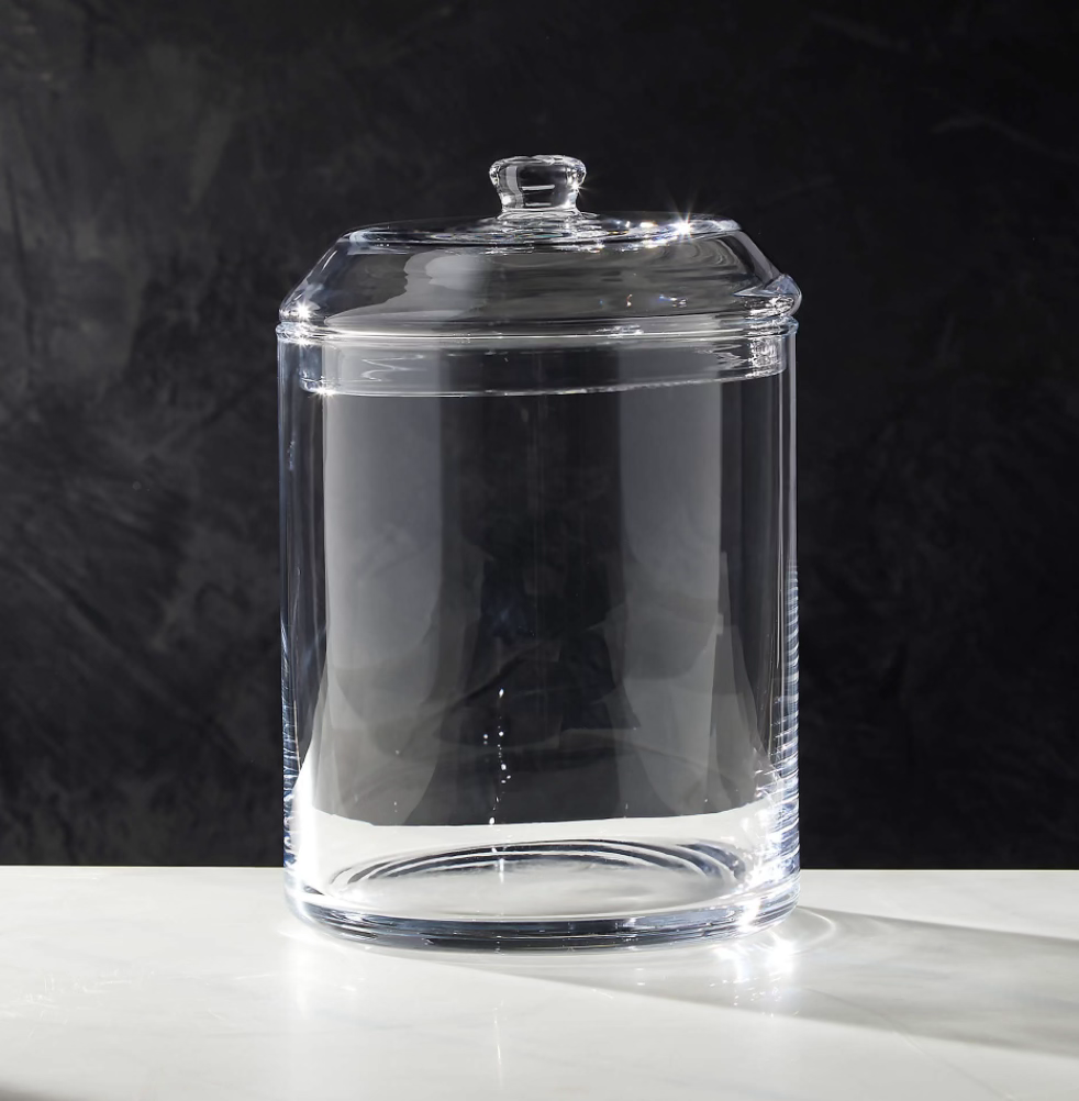 CB2 Kitchen canisters