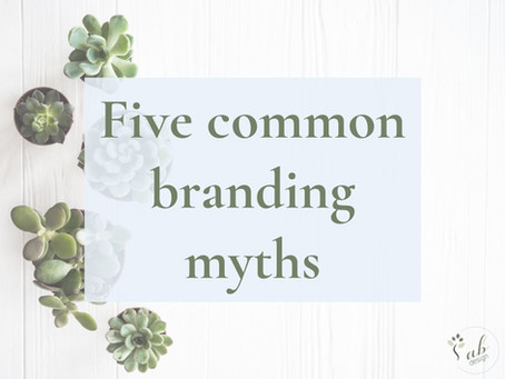 Five common branding myths