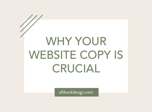 Why your website copy is crucial