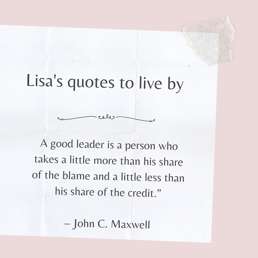 John C. Maxwell quote on good leaders