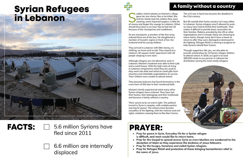 Refugee Relief Prayer Guide_inside pages