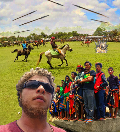 Indonesian festival turns into a flight for my life