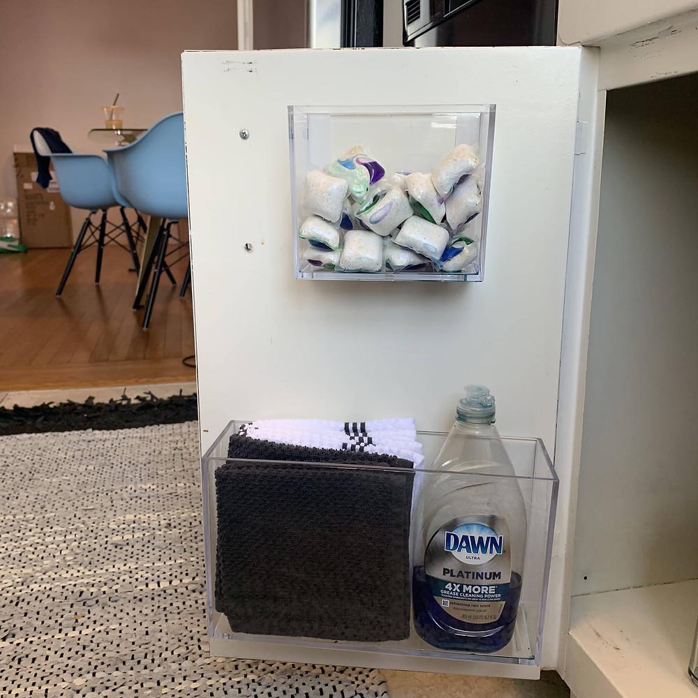Adhesive Storage cubes