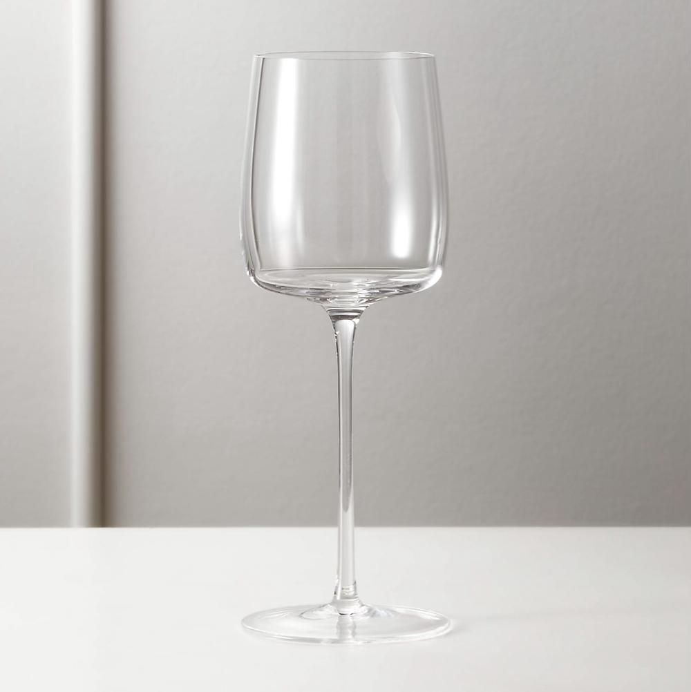 CB2 wine glasses