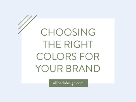 A guide to choosing the right colors for your brand