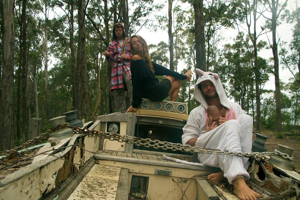Yoav, Yuli and Ben in Australia