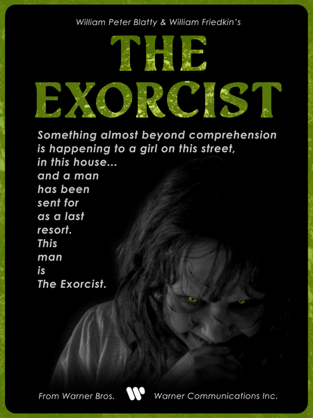 The Exorcist Fan Poster