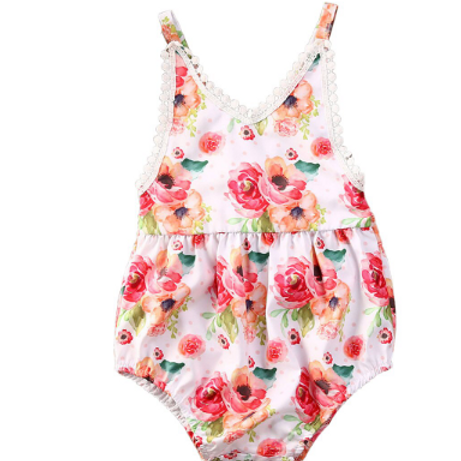 The Floral Romper 12 -18 months