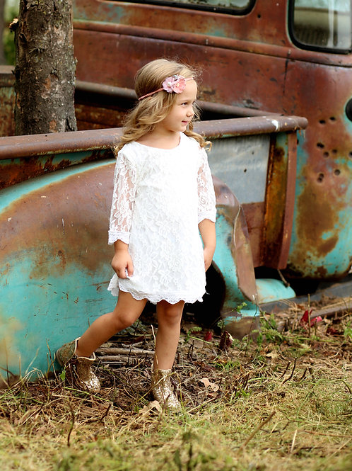 Simply Grace Lace Dress