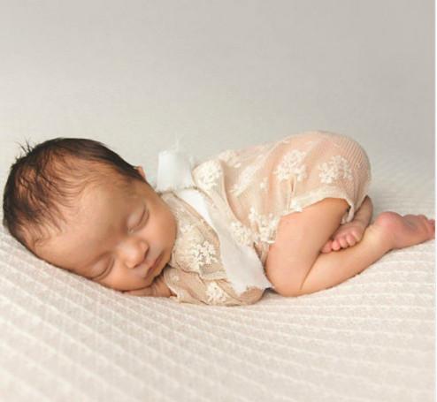 9eb95402944 Newborn Lace Romper