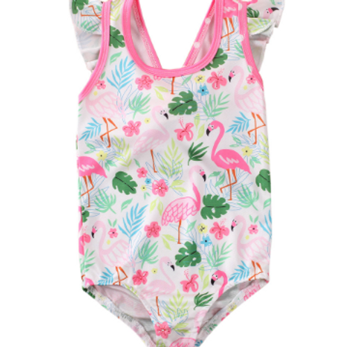 Flamingo Swim Suit 3t