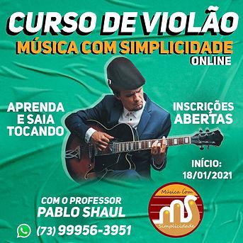 curso de VIOLAO MUSICA COM SIMPLICIDADE